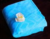 Asciugamano, oggetto di benessere. — Foto Stock