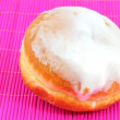 Donut with frosting — Stock Photo