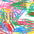 Paper clips background — Zdjęcie stockowe #19029397