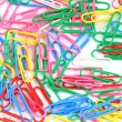 Paper clips background — Foto Stock #19029397