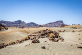 Barren land in Tenerife — Stock Photo