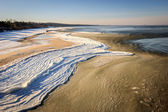 Baltic Sea in winter — Stock Photo