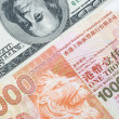 Stock Photo: USD vs HKD
