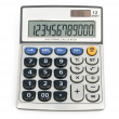 Stock Photo: 12 digit calculator with clipping path