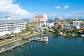 Good view of a sunshine afternoon at Clearwater — Stock Photo