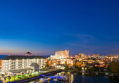 Evenfall of clearwater at tampa florida USA — Stock Photo