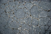 Cracked blacktop — Stock Photo