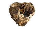 Good for heart chinese herbs blends — Stock Photo