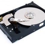Opened harddisk — Stock Photo