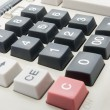Calculator close up view — Stock Photo #18150631