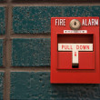 Fire alarm — Stock Photo