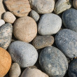 Pebble stones background — Stock Photo