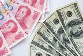 USD and RMB — Stock Photo