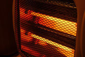 Electric heater — Foto Stock