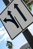 Directional siges — Stock Photo