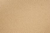 Cardboard corrugated pattern background, angled — Stock Photo