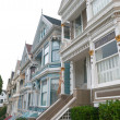 Stock Photo: Historic VictoriHome in SFrancisco CaliforniUSA