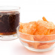 Stock Photo: Potato chips and colwith clipping path