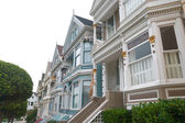 Historic Victorian Home in San Francisco California USA — Stock Photo