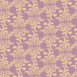 Abstract floral seamless retro pattern. — Stock Photo