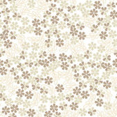 Abstract floral seamless background. — Stock Photo