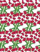 абстрактный цветочный фон бесшовные с тюльпан цветок — Стоковое фото