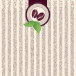 Coffee background - Imagen vectorial