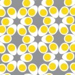 Royalty-Free Stock Vector Image: Egg seamless pattern