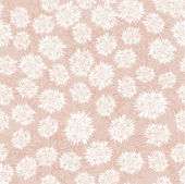 Seamless floral pattern with white and pink flowers — Stock Vector