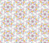 Seamless pattern background with bright stylized flowers — Stock Vector