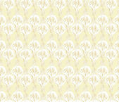 Seamless pattern from floral motif, beige background — Stock Vector
