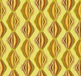 Wavy abstract seamless pattern. yellow background — Stock Vector