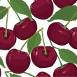 Seamless pattern from cherry - Stock vektor