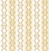 花のモチーフを飾り、白の背景に緩やかな線からのシームレスなパターン — ストックベクタ