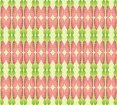Seamless pattern with plant motif on green background, Print — Stock Vector