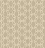 Seamless pattern with leaves on beige background, Print — Stock Vector