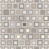 Seamless pattern with gray and brown geometric elements — Stock Vector