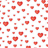 Love hearts Valentin's Day Seamless Pattern. Bright Vector seamless background. — Stock vektor