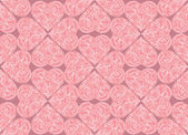Love hearts Valentin's Day Seamless Pattern. Bright Vector seamless background. — Stock Vector