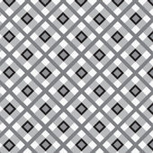 Checkered cotton fabric seamless pattern — Stock Vector