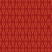 Floral pattern seamless. Flower vector motif on red background. Elegant wallpaper. — Stock Vector
