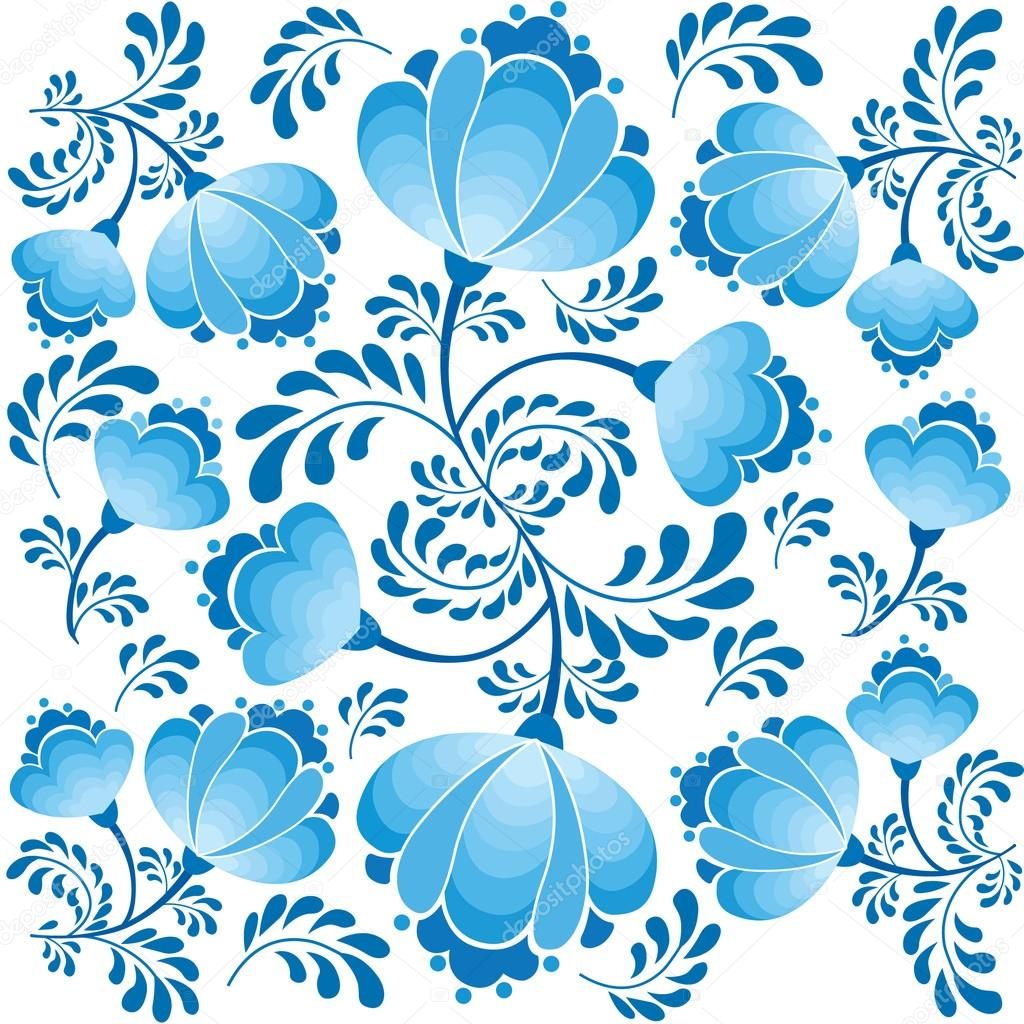 yaprak ve çiçek beyaz arka planda Rus tarzı ile Seamless ...: http://tr.depositphotos.com/20003093/stock-illustration-Seamless-pattern-with-leaves-and-flowers-on-white-background-in-russian-style.html