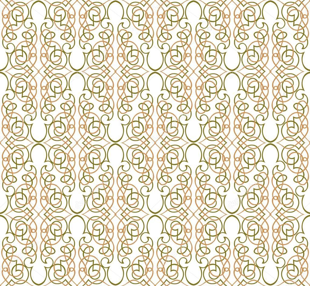 Motif Floral Wallpaper