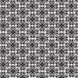 Abstract seamless pattern from lines, floral ornament — Stock Photo #21088535