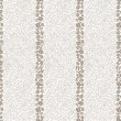 Coffee seamless background. Coffee beans seamless lined pattern - Stock Vector