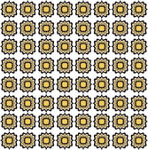 Astratta geometrica trama retrò. modello senza soluzione di continuità. ornamento floreale fulmine. Lambertini sfondo vintage — Vettoriale Stock