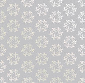 Abstract Flower Background Texture. Seamless pattern. Floral lightning ornament. Grey background — Stockvector