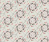 Resumen fondo gris transparente ornamental. ilustración de vector geometrico — Vector de stock