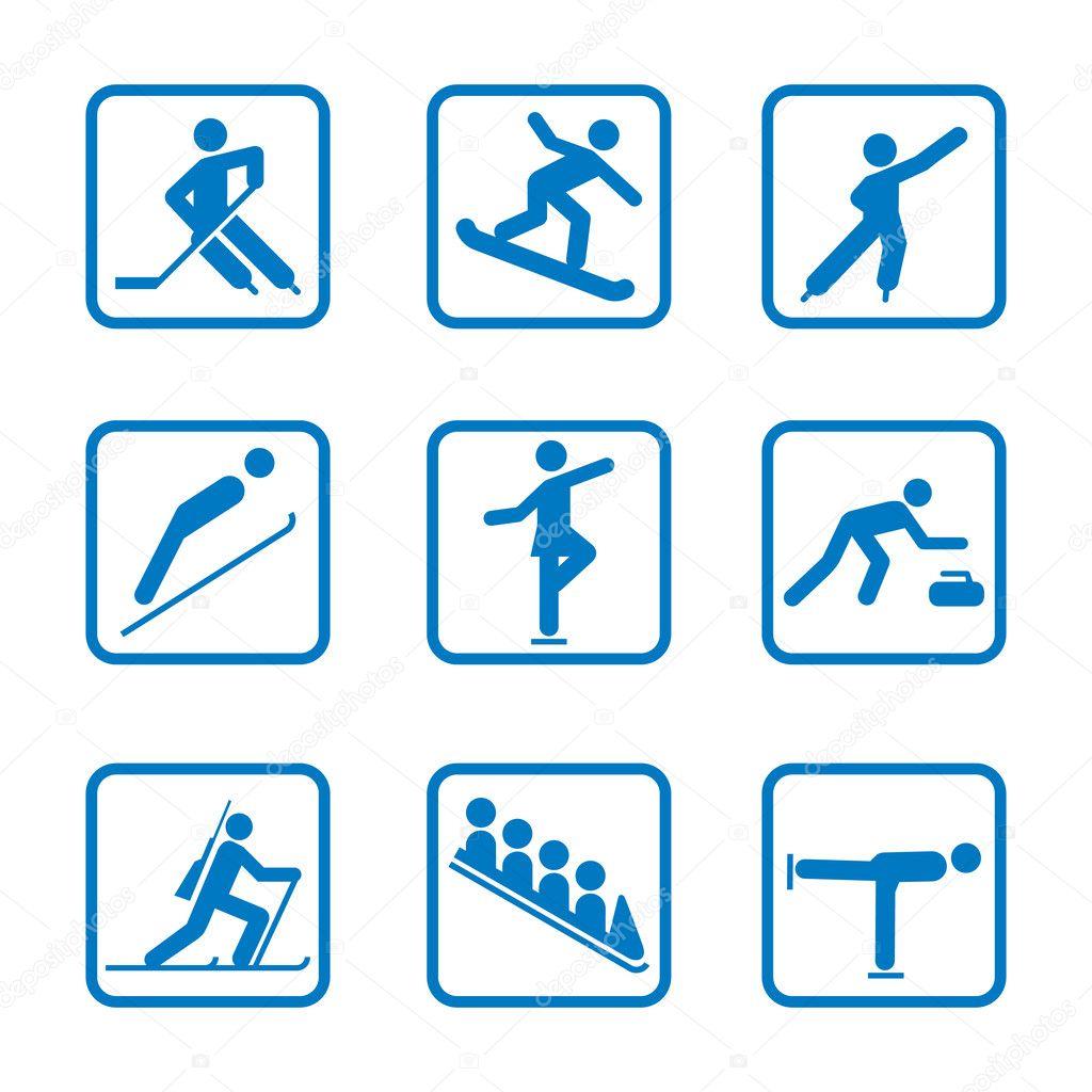 картинки спорт олимпиада эмблемы сочи