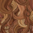 Hair background. — Stockvektor